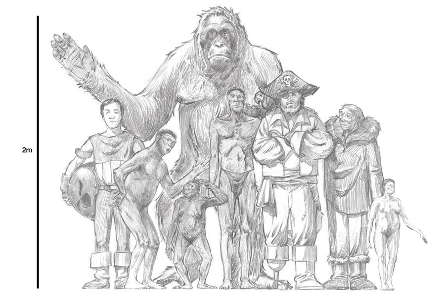 Gigantopithecus Giganteus No comments have been addedGigantopithecus Giganteus