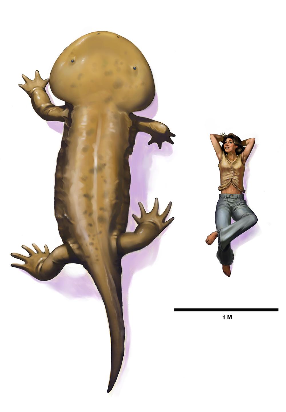 Koolasuchus and girl rework
