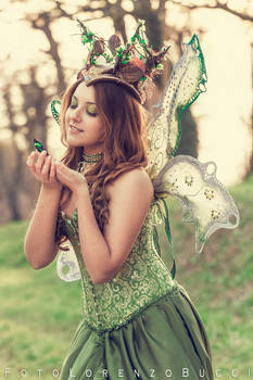 Titania and Butterfly