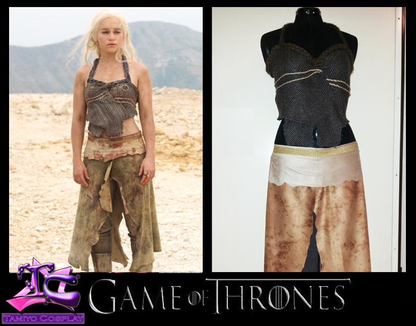 Daenerys Targaryen Dothraki Cosplay Costume by Tamiyo-Cosplay