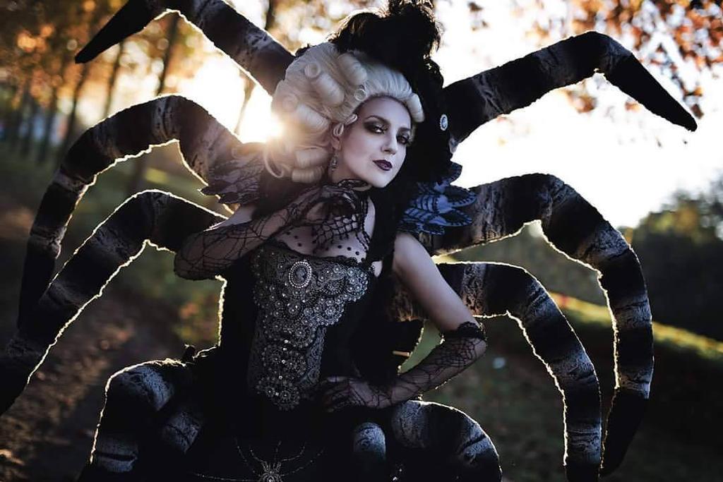 Arachne from Mystic Animism by Sakizou by Tamiyo-Cosplay