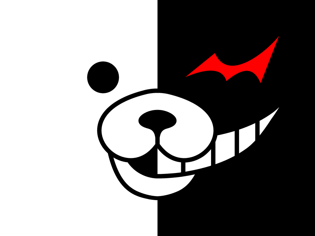Minimalist Monokuma By Irocandrew On Deviantart