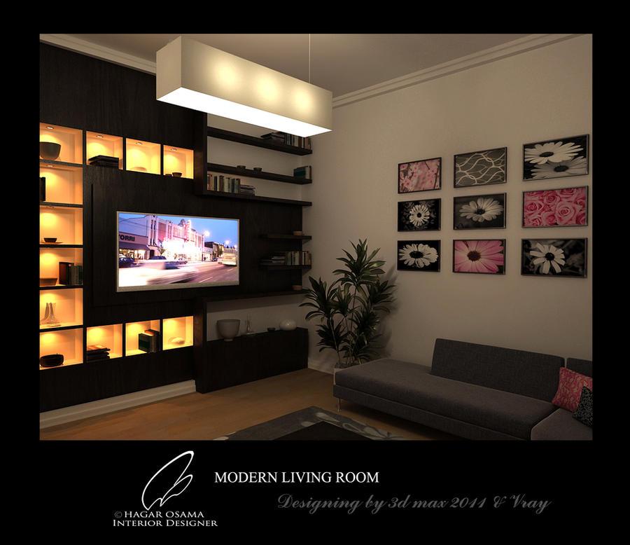 Modern Living Room By Hager-osama On DeviantArt