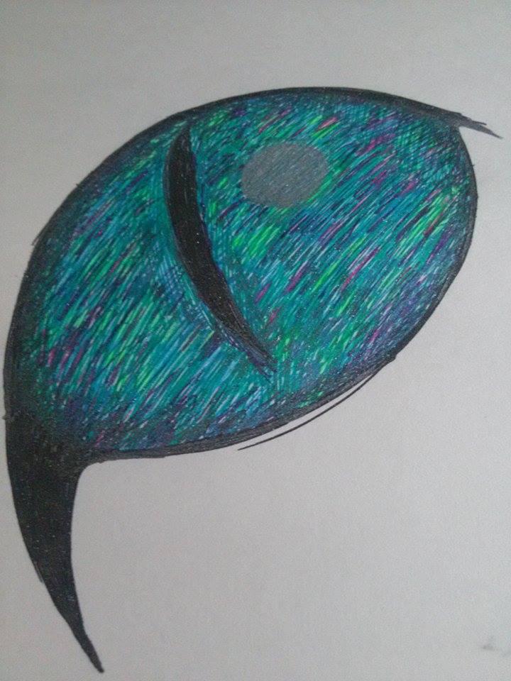 Cat's eye by Dantes-lil-Girl