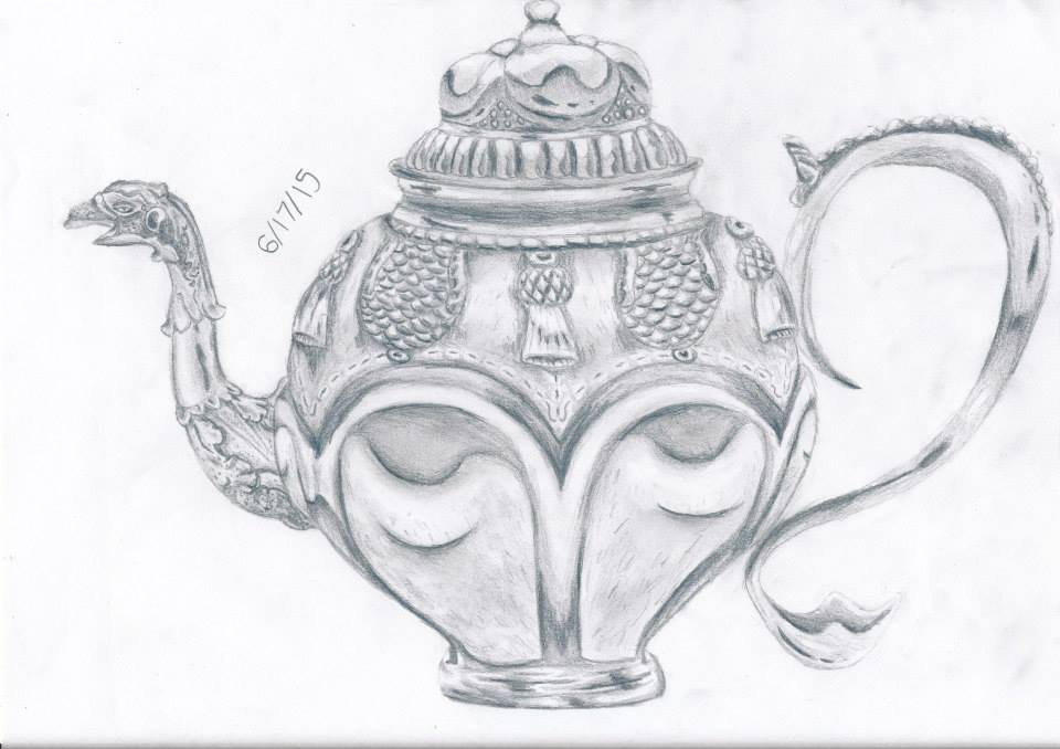 tea pot by thelongdreamer