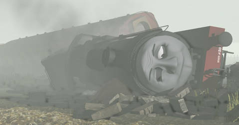 CJSutcliffe 66 23 The Blitz - The Goods Engine's Fall by GreatWesternLegacy