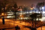 018. Snow in Cracow