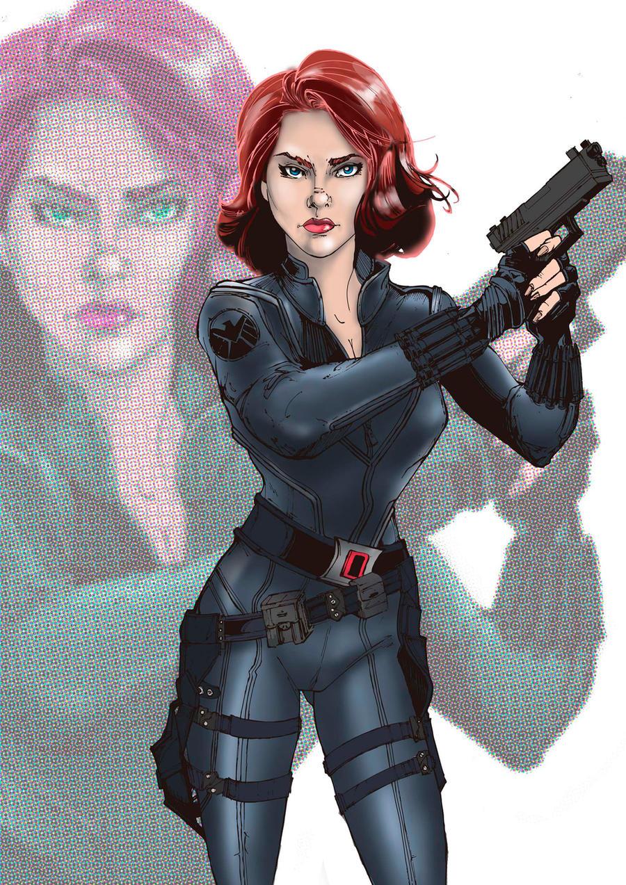 Black Widow by alejanfigueroa