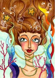 Mermaid Copic Markers