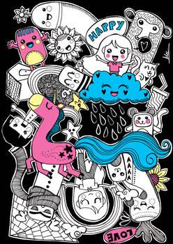 Colourful Doodles