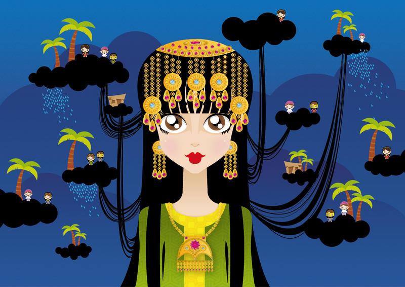 Arabic Girl by kholoodfantasy