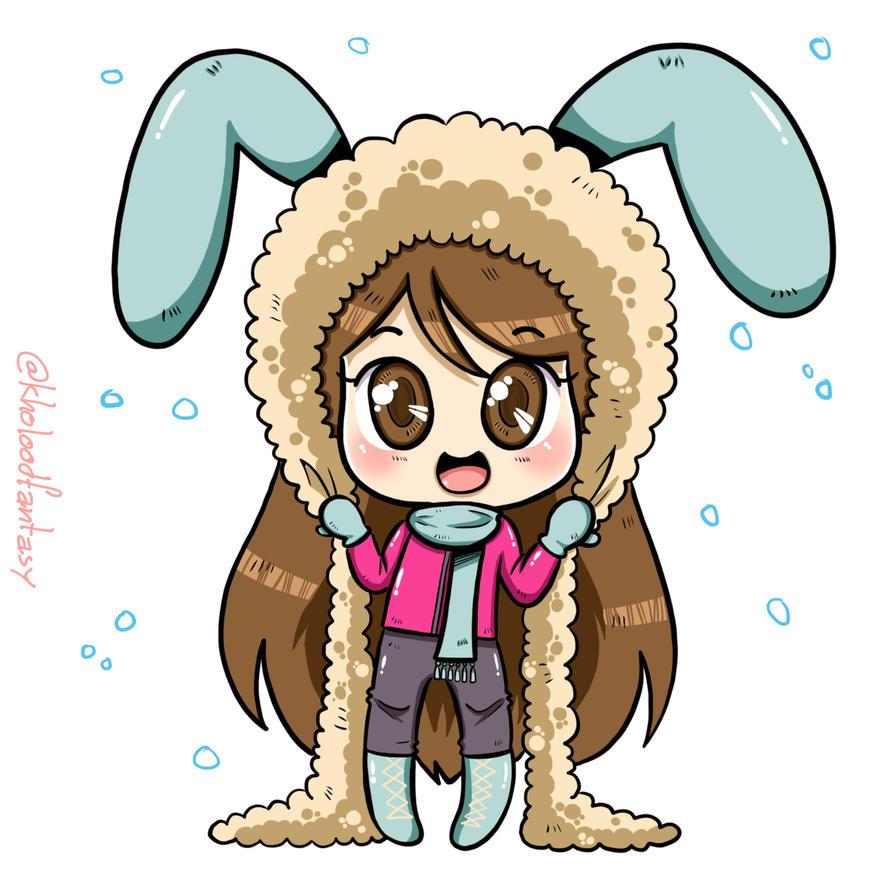 Hello winter by kholoodfantasy