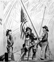 9-11-01 Flagraising