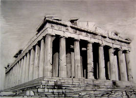 Acropolis Parthenon by Y-LIME