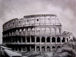 The Roman Colosseum by Y-LIME