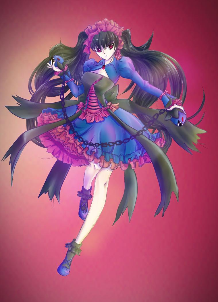 Hydreigon Dalila by taishi-umi