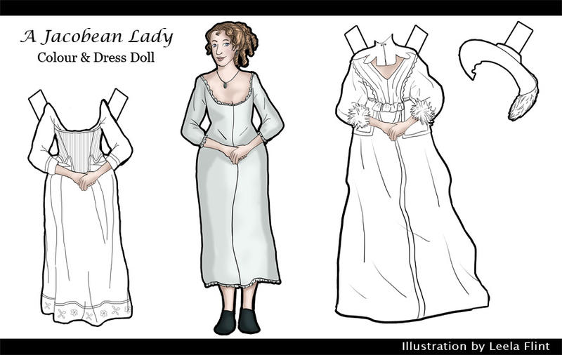 A Jacobean Lady - Doll by alicelights