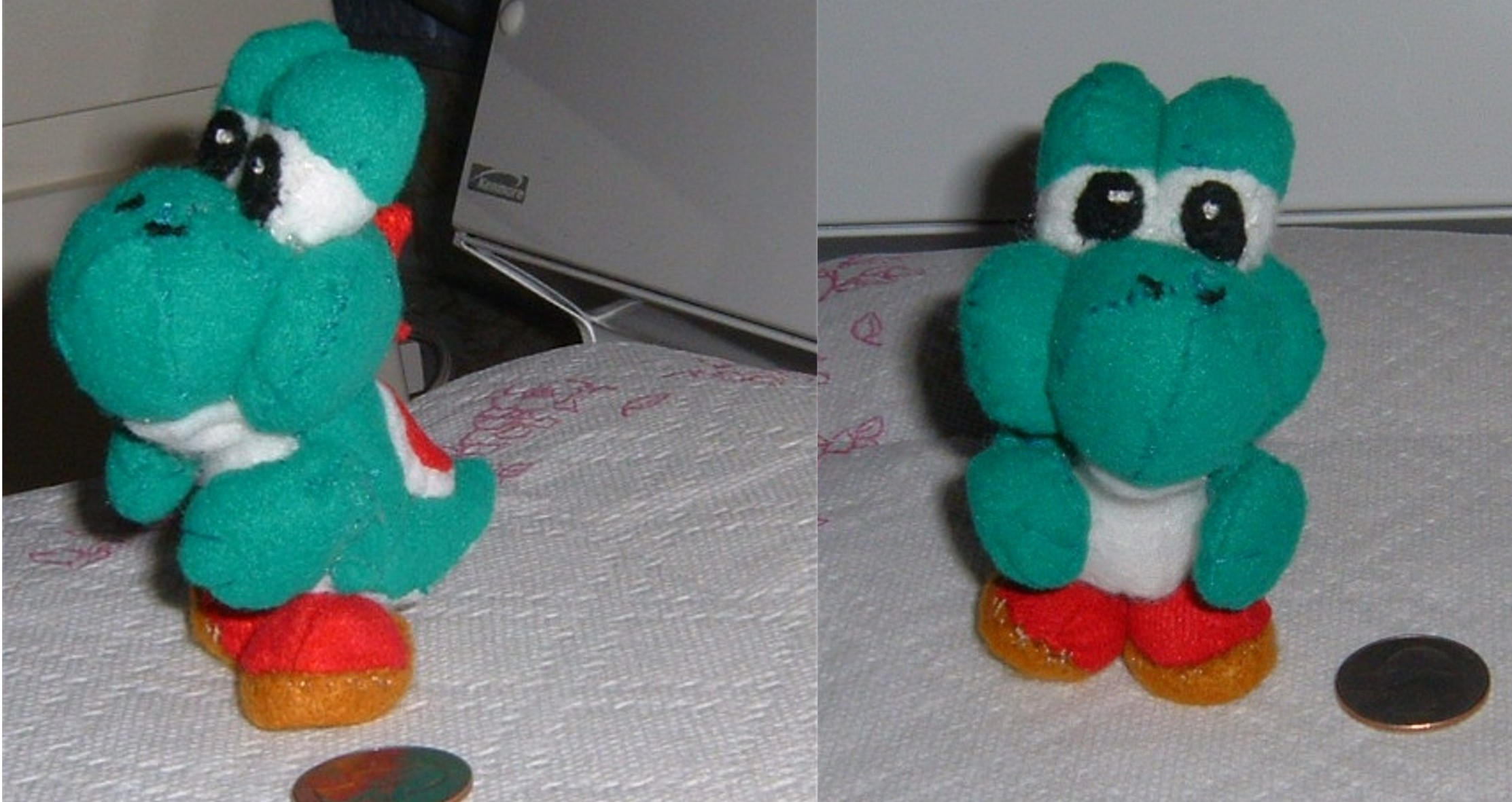 yoshi plush template - mini yoshi plush by intrepidthrough on deviantart