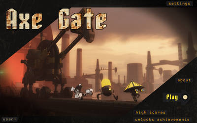 Axe Gate main screen by janis21111