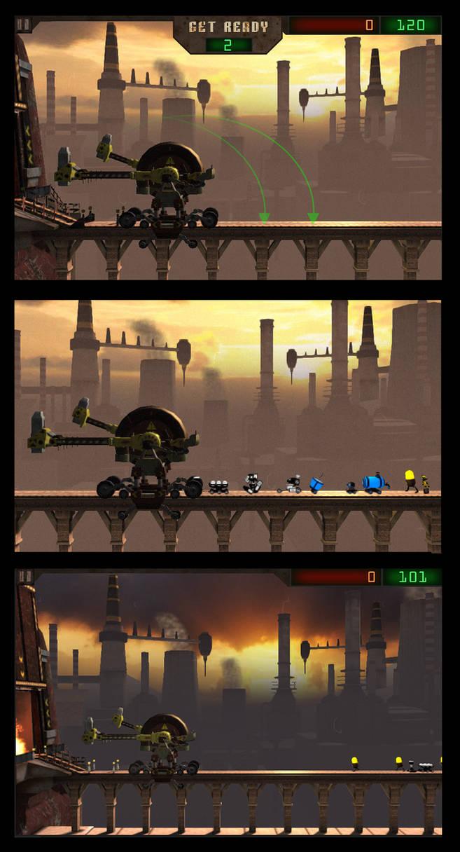 Axe Gate wip screen shots