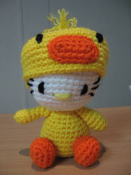 hello kitty ducky by anjelicimp