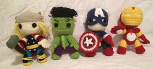 The Avengers Sackboy