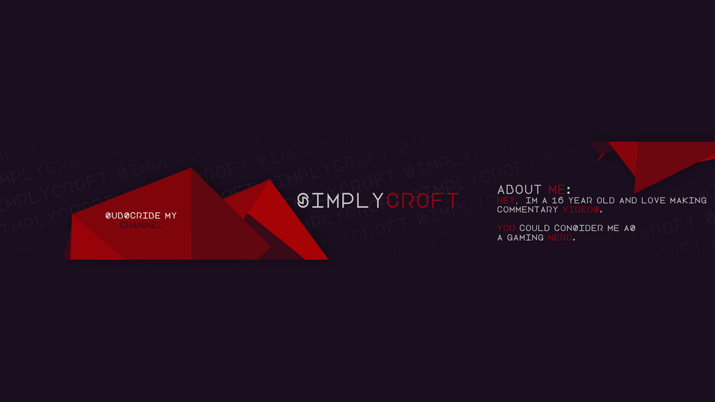 Youtube-banner-template by itsCroft on DeviantArt