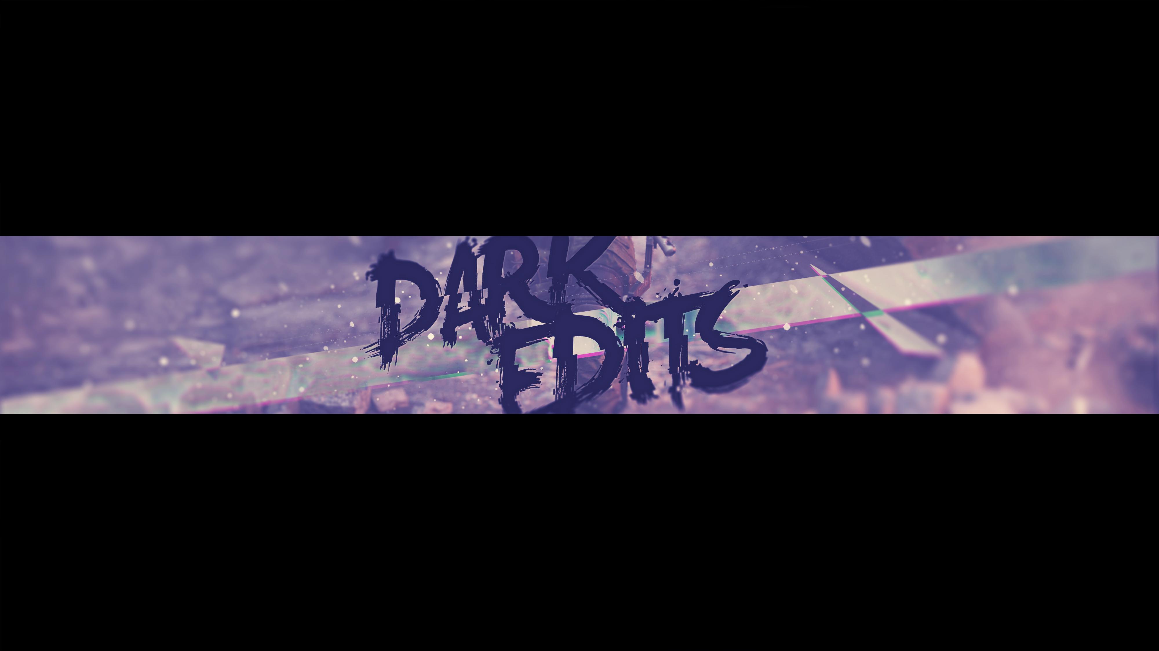 Dark Edits Youtube Banner by GraphicalMinion on DeviantArt