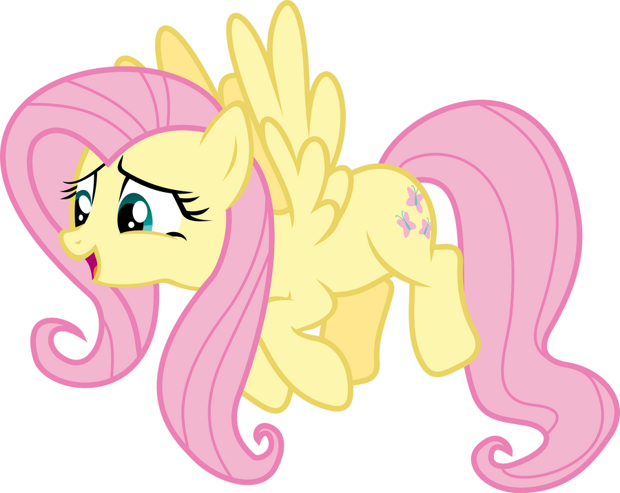 Fluttershy by zomgmad