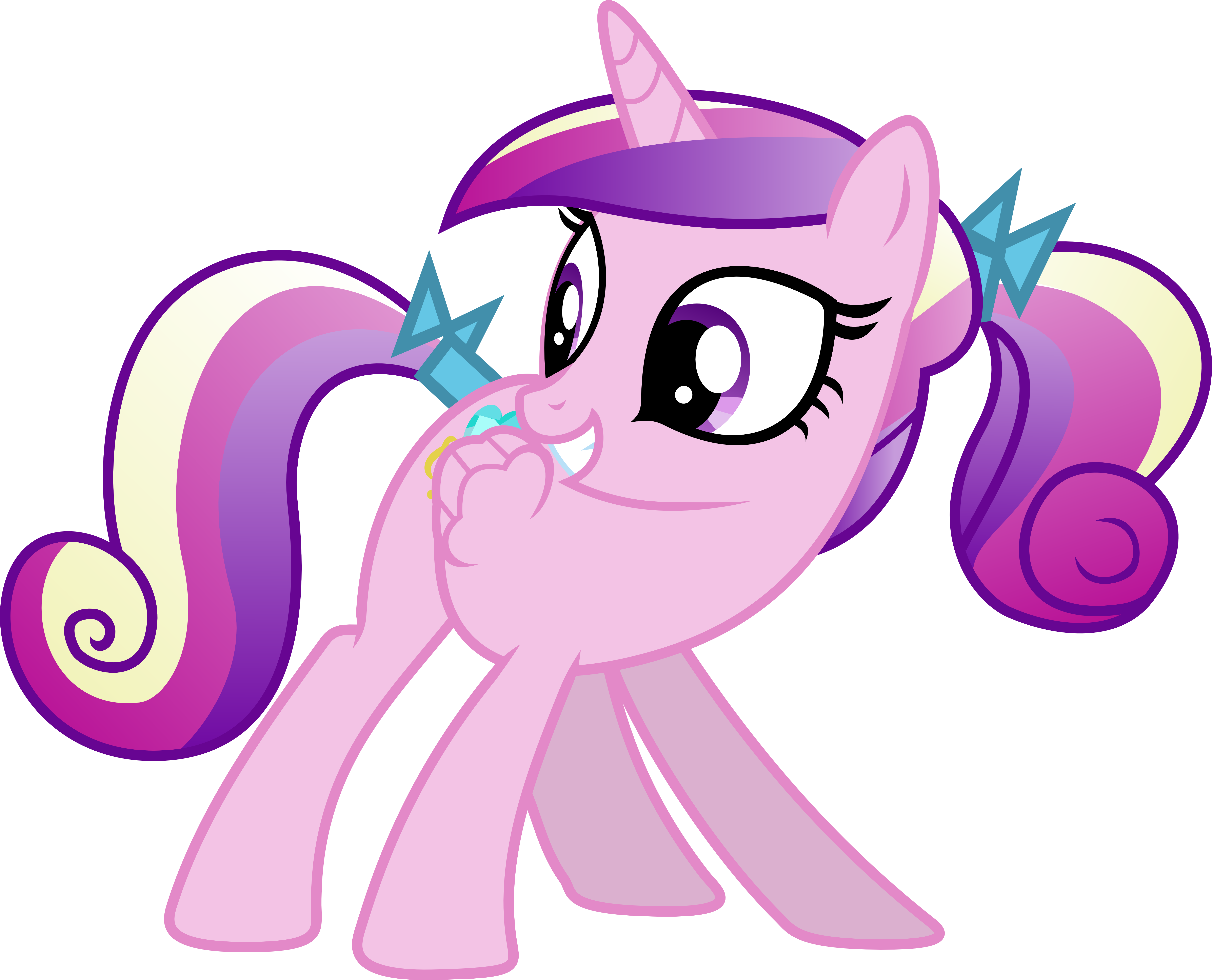 Filly cadence by zomgmad on deviantart - My little pony cadence ...