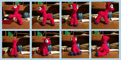 Posable Crochet Pony WIP Pics