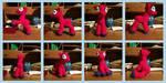 Posable Crochet Pony WIP Pics by zomgmad