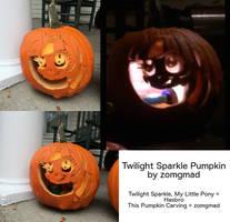 Twilight Sparkle Pumpkin Carving
