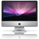 iMac Reflective icon by LiquidsnakE4