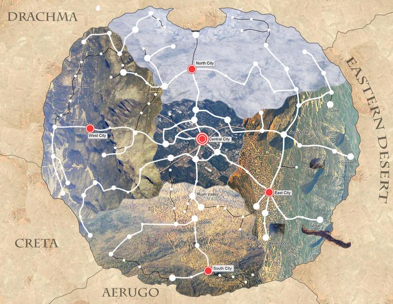 FMA: Amestris - Real World Map by ilovefullmetal on DeviantArt