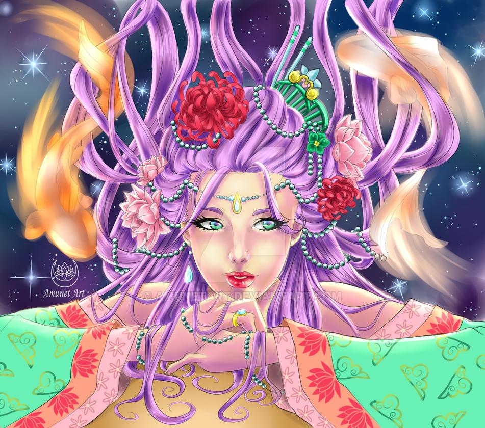 Lovely Lotus by AmunetArt