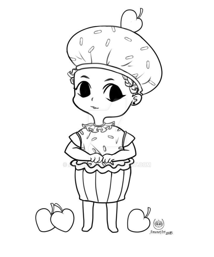 Cupcake Sariah LA by AmunetArt