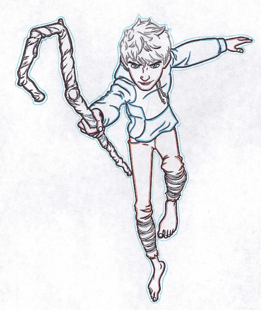 Jack Frost - Free Coloring Pages