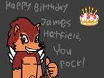 Happy Birthday James Hetfield from Wolfgang