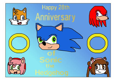 Happy 28th Anniversary of Sonic the Hedgehog