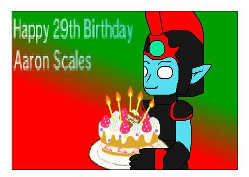 Happy 29th Birthday Aaron Scales
