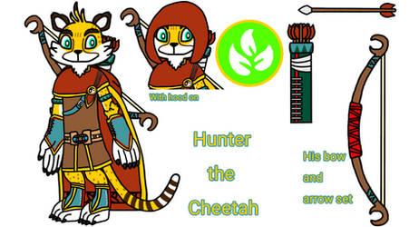 Hunter in Skylanders Concept Part 1 by ChelseaKittyGirl
