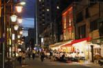 Japan series: Asakusa by Night by panna-cotta