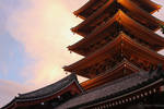 Japan series: Sensou-ji Pagoda by panna-cotta