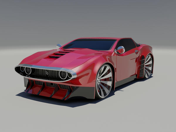 Muscle Car Concept By Gabriel A D On Deviantart