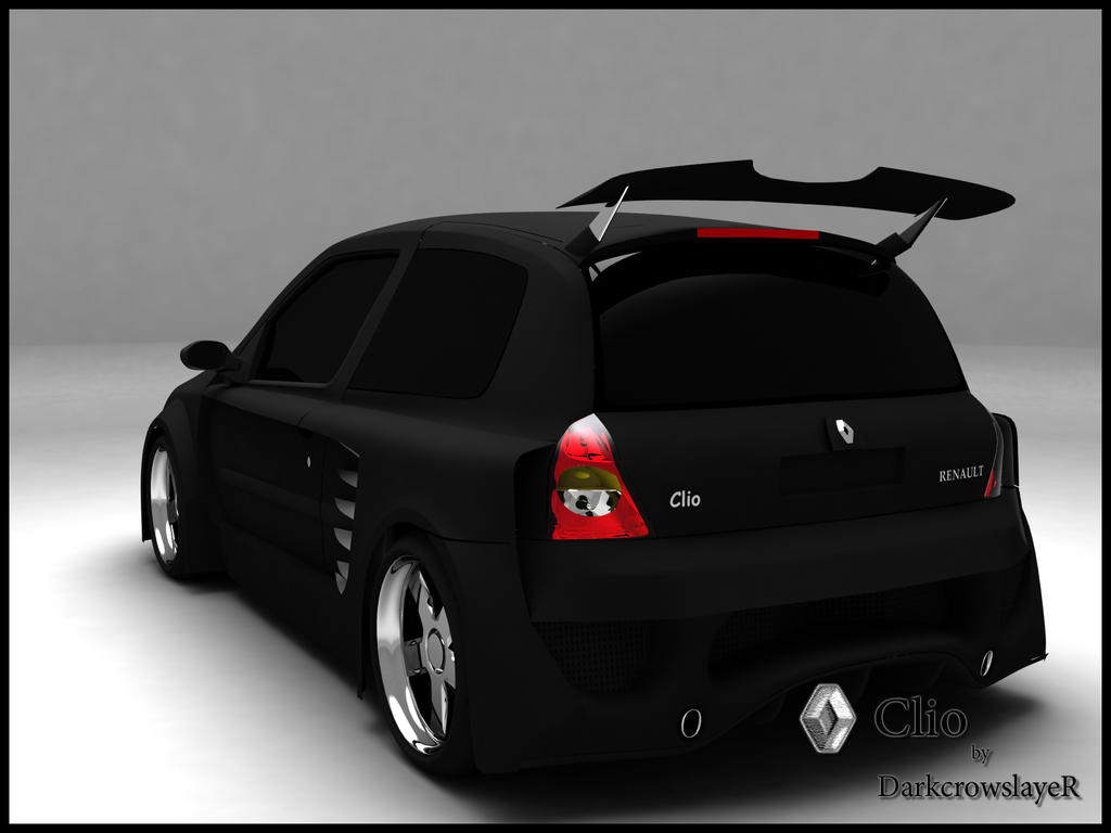 renault clio radical tuning b by gabriel a d on deviantart. Black Bedroom Furniture Sets. Home Design Ideas