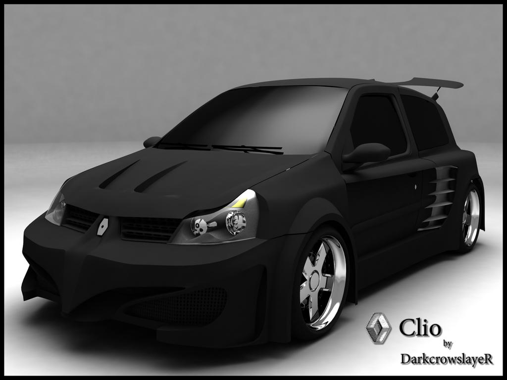 renault clio radical tuning by gabriel a d on deviantart. Black Bedroom Furniture Sets. Home Design Ideas