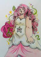 Rose Quartz by Saiyanpelt-and-Co