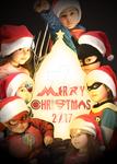 2017 Christmas card by Lil-Hawk