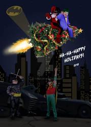 2018 Christmas card by Lil-Hawk